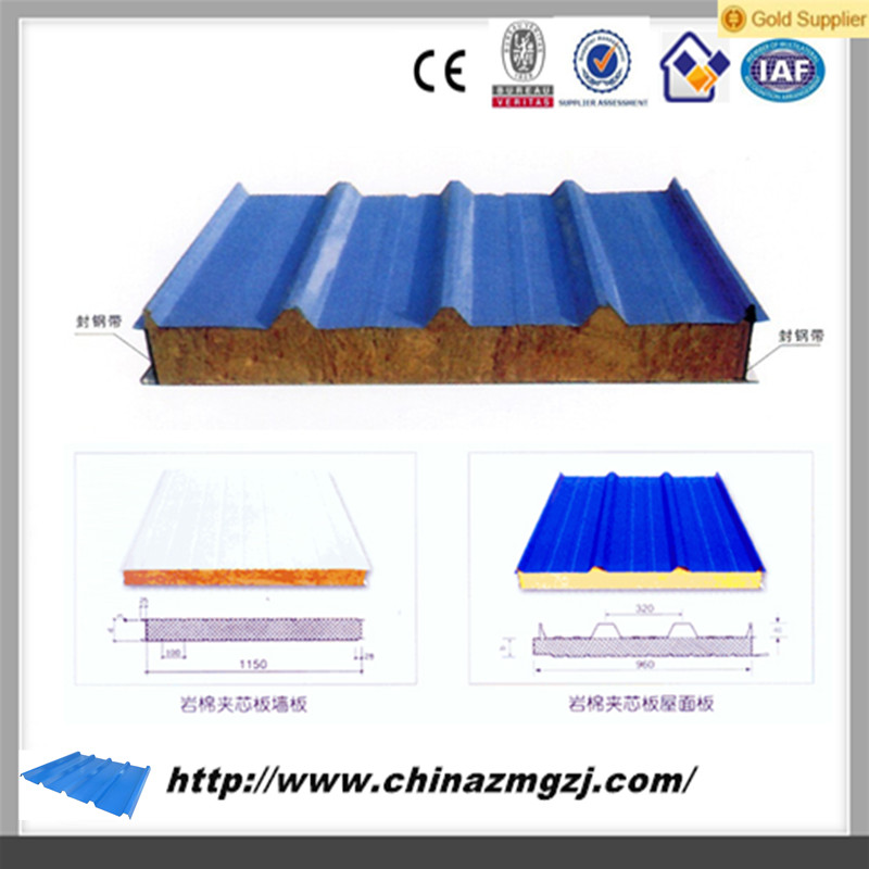Manfacture containers house polyurethane insulated wall sandwich panel price