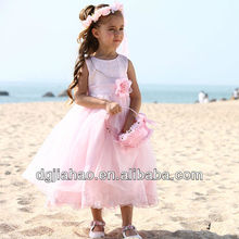 New pattern princess pink beach wedding dresses