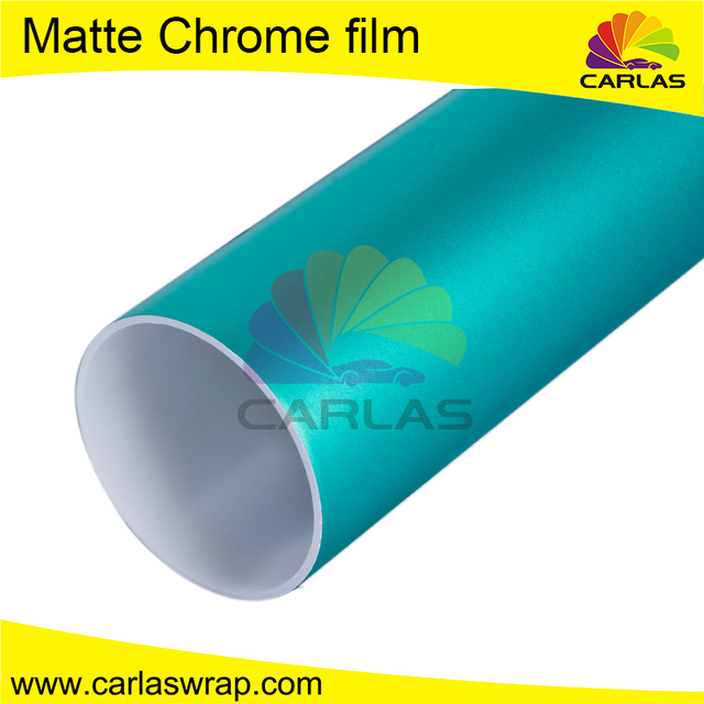 Carlas matte chrome digital camouflage car wrap film
