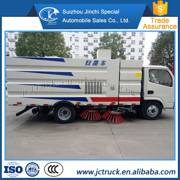 German technology 6CBM dongfeng park Sweep road truck manufacturing company