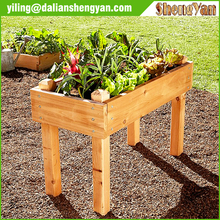 Timber Flower Bed Raised Planter Box