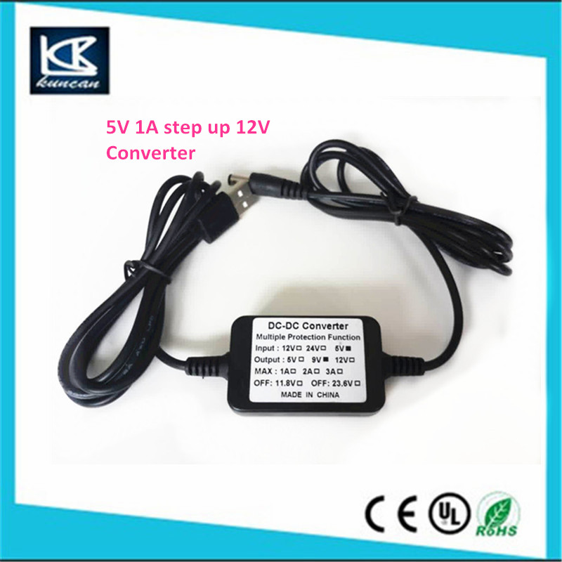 5v 2a step up 9V 12V 24V low voltage protect 12 5w dc dc converter 48v to 12v