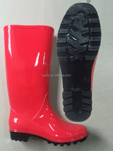 plastic boots for rain cheap PVC gumboots for ladies