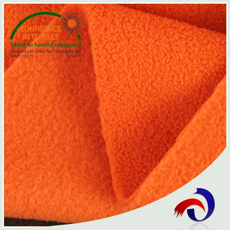 China popular high quality knitted cheap polyester coral polar fleece fabric