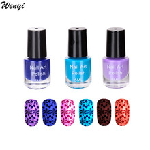5ML Stamp Polish Nail Polish & Stamp Polish Nail Art 26 Color Optional Stamping Nail Lacquer Spray Vernis A Ongle Varnish
