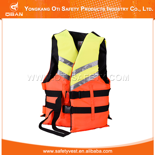 Foam floating fishing kayak life jacket safety vest