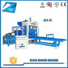 QT4-15 cement brick & block making machine price in india
