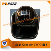 Leather Gear Shift Knob Cover for VW Golf 5 Golf 6
