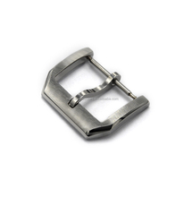 wholesale customize brush stainless steel watch buckle clasp pin buckle deployment