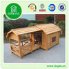 DXDH006 Outdoor waterproof wooden natural dog kennel