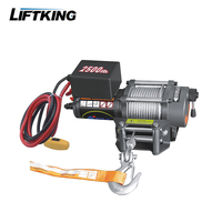 Auto 2500LBS ATV car electric winches 120v