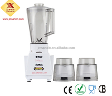 Sanxin Factory Price 1L PS Big Jar 1 Speeds 2 in 1 Electric Plastic Fruit Juice Blender Machine