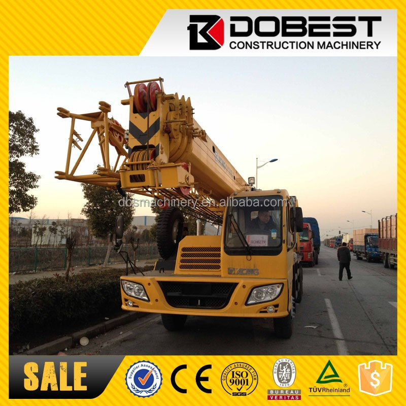 From Chinese brand XCGM truck crane QY20B.5 in stock for sale
