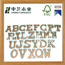 Eco- friendly OEM&ODM cheap wooden crafts unfinished cheap wooden English words
