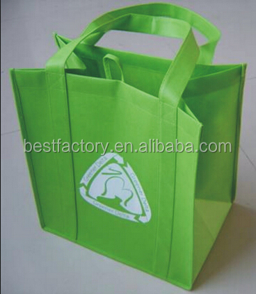 Reusable Solid Color Grocery Tote Bag