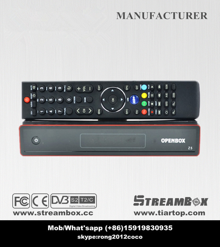 StreamBox Sunplus1506 S2 STB Full HD 1080p PVR USB WiFi Netword APP Satellite TV Receiver