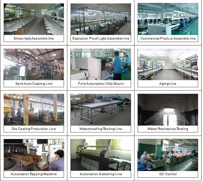 shenzhen factory offer high quality led light fixtures ip68 with ul atex approved 5 years warranty