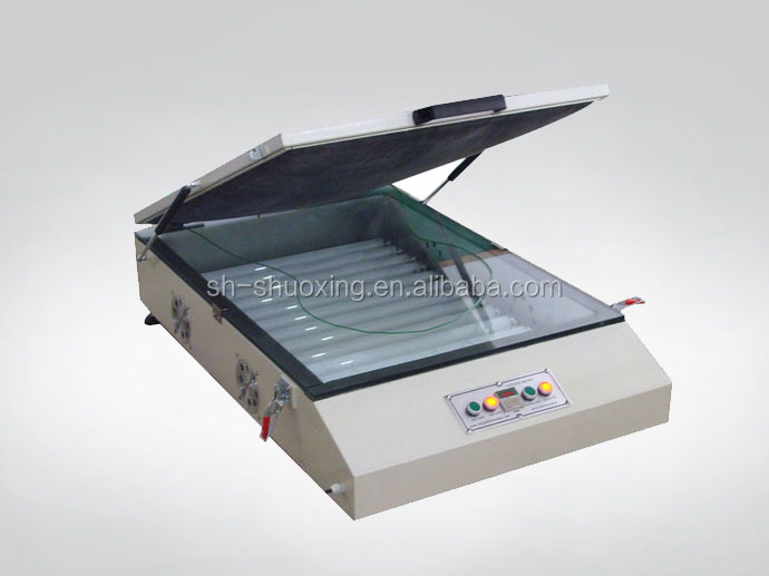 Tabletop exposure units, vacuum UV exposure machine