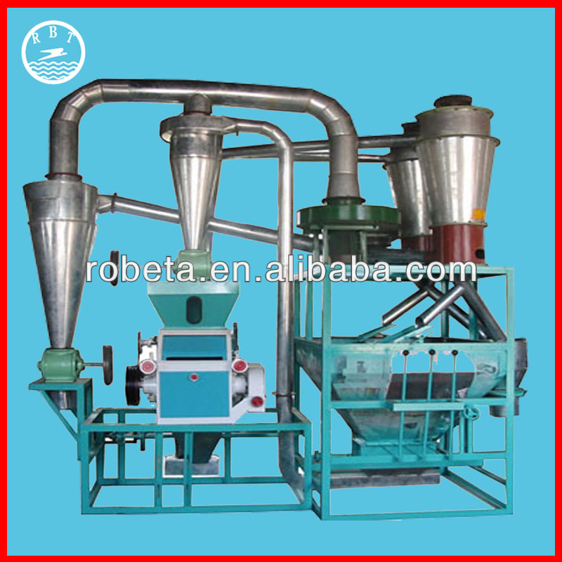 China hot sale mini industrial flour mill price / 0086-15039070307