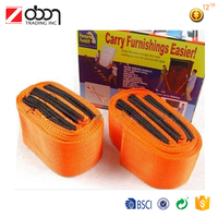 carry furnishing easier Forearm lifting straps/Moving Straps Forklift/Weight Lifting Straps