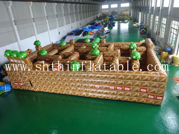 2016 inflatable maze,inflatable labyrinth maze,inflatable laser tag for adult