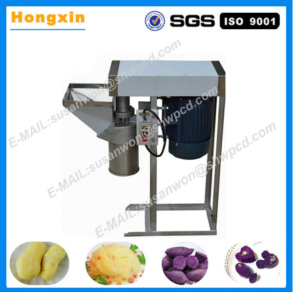 commercial electric small type potato paste onion mash machine