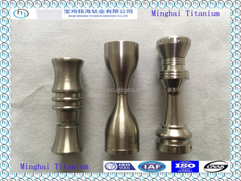 Best price for electronic cigarette of Gr2 domeless titanium nail