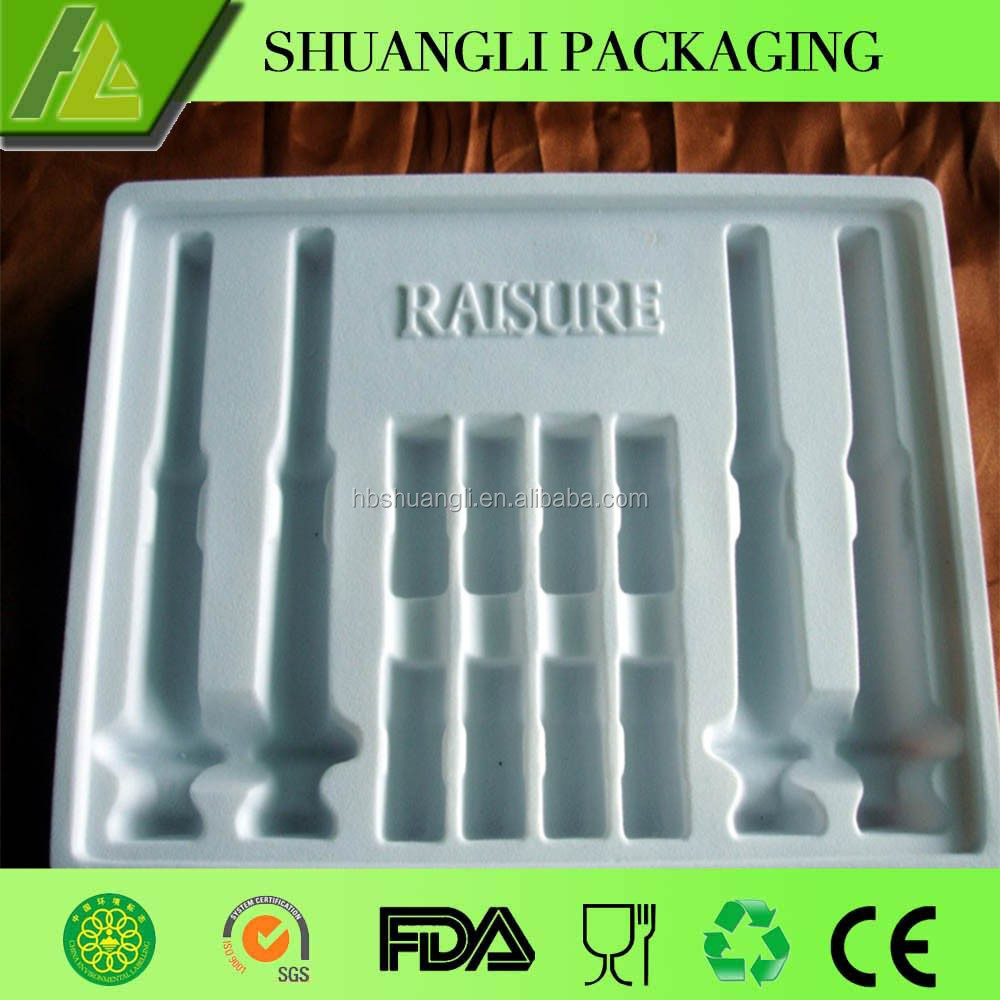Plastic Injection Tray Packing