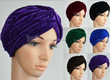 velvet Turban Head Wrap
