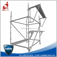 High grade Q345 steel material ,galvanized scaffolding /