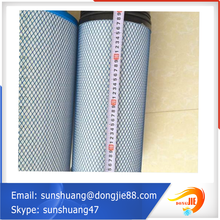 rotary drum filter activated carbon air filter cartridge/micron filter/polyester filter cartridge