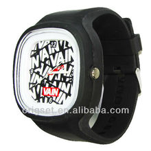 jelly watch square advertising wrist watch