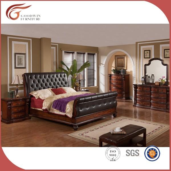 Madera de calidad superior antiguo conjunto de muebles de for Muebles de dormitorio antiguos