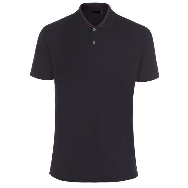 Men's Slim-Fit Navy Polo Shirt