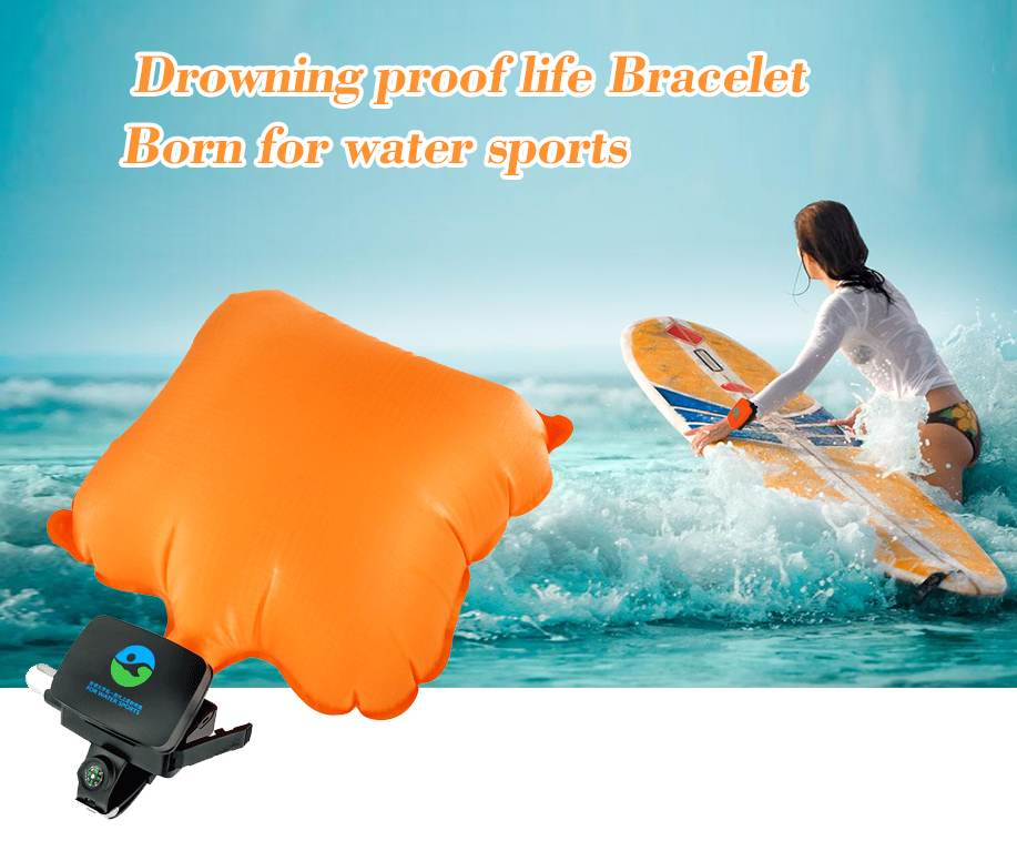 child drowning proof life bracelet life buoy light safety water anti drowning equipment