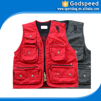 OEM Rip-stop Outdoor Travel Fishing Vest mens