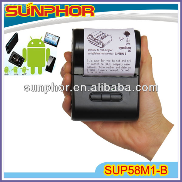 Android Tablet with Mini Printer SUP58M1-B