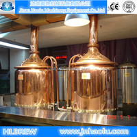 1500L Beer Brewing Equipment For Hotel