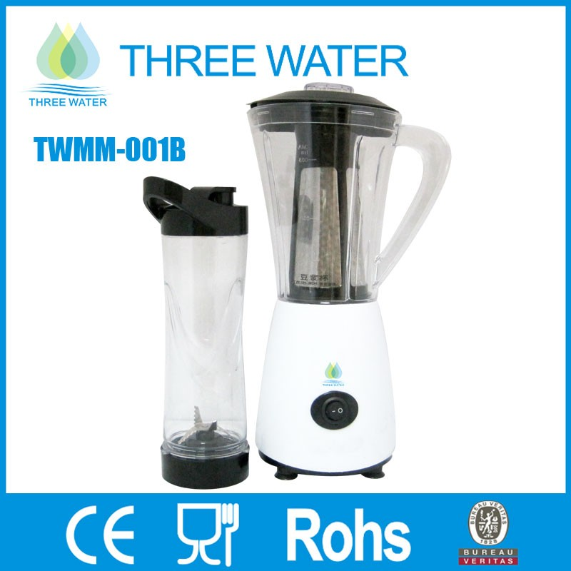 2 in 1 mini electric soya bean mixer grinder