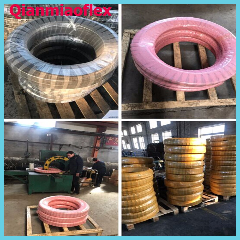 "25' x 3/8"" 250 PSI Rubber Air Compressor Hose"