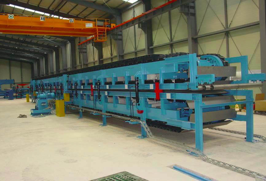 Continuous High Quality PU Sandwich Panel Production Line