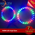 Replace CCFL Angel Eyes Factory Price Universal LED Halo Ring SMD 3528 LED Angel Eyes Light