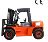 5ton 4 wheel directional fork lift truck with paper roll clamp/heavy loading stacker forklift japanese mini forklift for sale