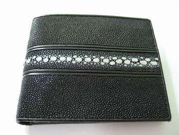 Leather Products: Stingray Wallet, Crocodile, Cowhide, Ostrich