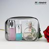 Wholesale Custom fashion clear waterproof pvc makeup bag /PVC cosmetic bag