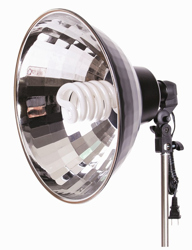 LH-85 Continuous Light for Photography with Holder,Tricolor Lamp and Reflector