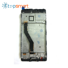 China factory mobile phone spare parts LCD screen for huawei P9 plus