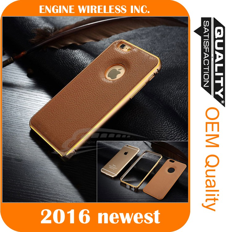 universal case cover for 4.7 inch cell phone genuine leather for iphone case