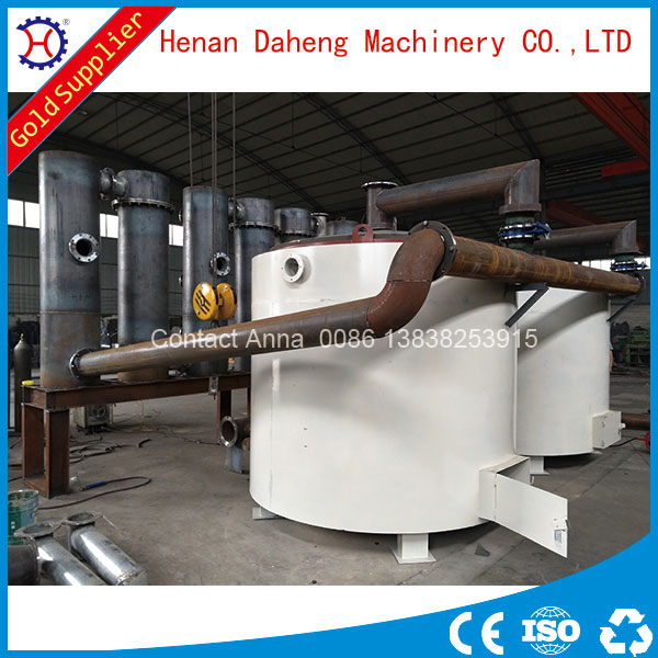 low price good quality biofuel charcoal carbonization furnace