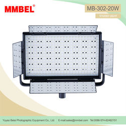 Camera equipment led lighting panels for tv studio
